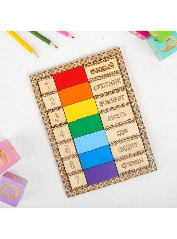 Учим цвета радуги, Smile Decor А015 купить