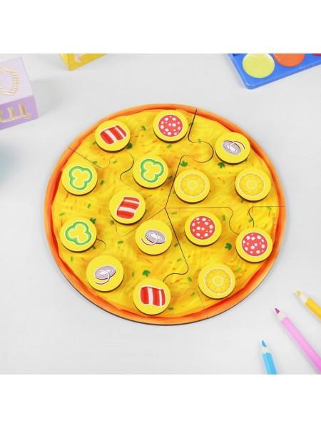 Пазл Пицца мясная, Мастер игрушек IG0297