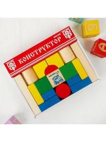 Конструктор Цветной, 26 дет. Томик 6678-26