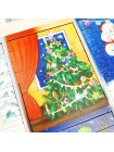 Пазлы из палочек Новогодние (Новый год) купить