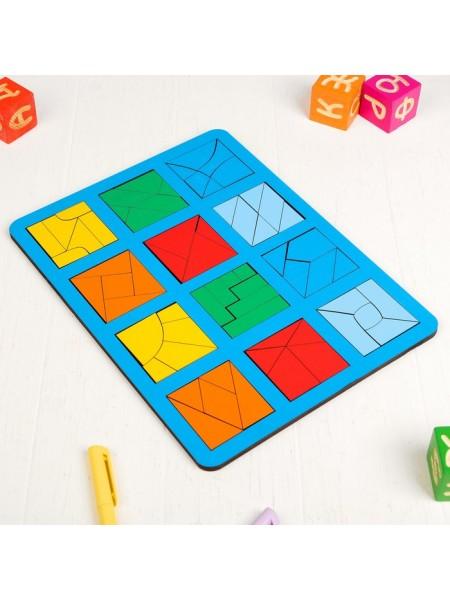 """Игра """"Сложи квадрат"""" Б.П.Никитин, 3 уровень (макси)"""