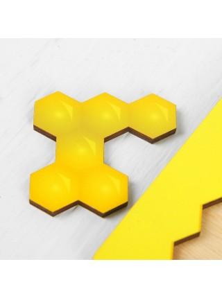 """Головоломка """"Пчелиные соты"""" цветные Мастер игрушек IG0183"""