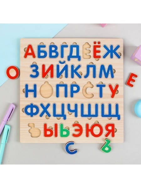 """Алфавит русский """"Звуки и буквы"""", Мастер игрушек IG0277"""