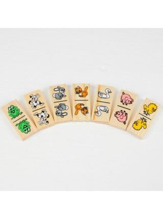 Домино Животные Томик 5555-1