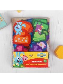"""Набор цифр Мастер игрушек """"Магниты со смешариками"""" IG0254"""