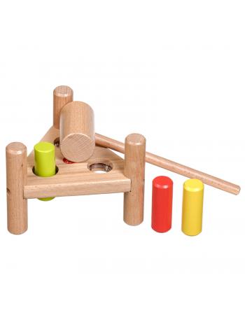 """Деревянная игрушка-стучалка """"Треугольник"""" купить"""
