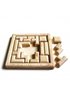 Игра головоломка - Тетрис (неокрашенная)