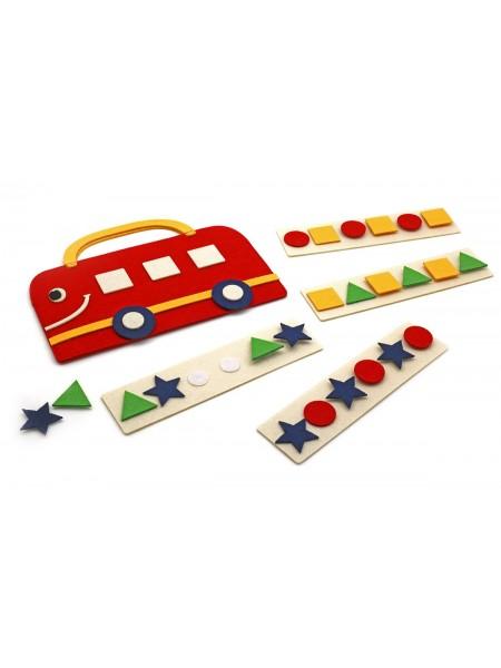 Развивающая Сумка-игралка Автобус