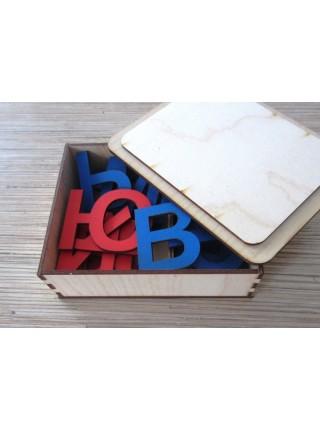 Развивающий набор Русский алфавит, деревянный