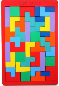 Деревянная игра головоломка, пазл - Тетрис
