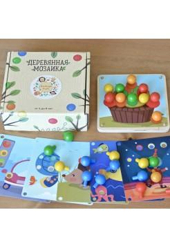 Набор Мозаика Мини - Радуга Кидс (6 карточек)