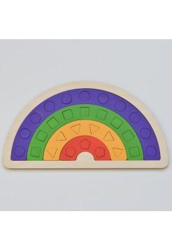 Радуга Цветная Геометрия - РадугаКидс