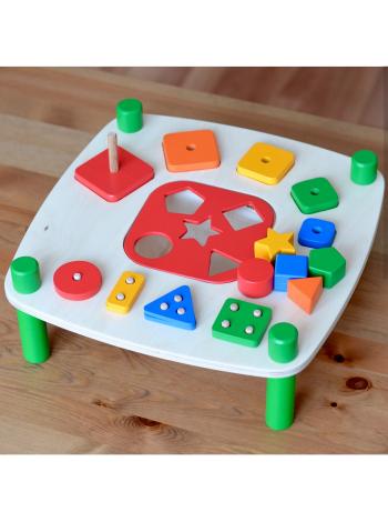 Деревянный Игровой стол Радуга Кидс, купить
