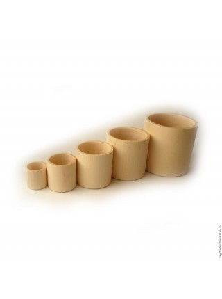 Цилиндрики-стаканчики (5 в 1) RNToys Д-020