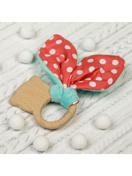 """Игрушка-грызунок Для малышей, форма """"Мишка"""""""