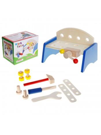 """Игровой набор """"Верстак"""" с набором инструментов, 9 предметов купить"""