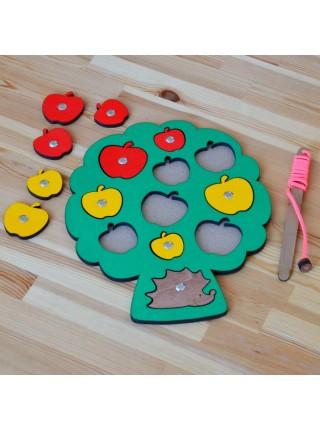 Игра с магнитами Собираем урожай, Smile Decor Р009