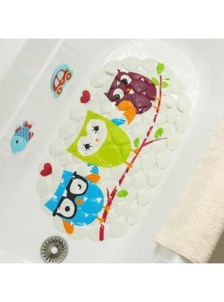 Противоскользящий коврик для ванны Совы