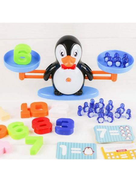 Математические весы Пингвин