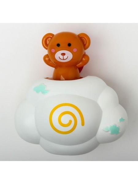 Игрушка брызгалка «Мишка на облачке»