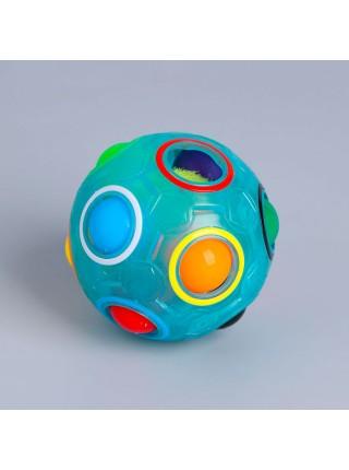 Головоломка шар Орбо, цвет голубой