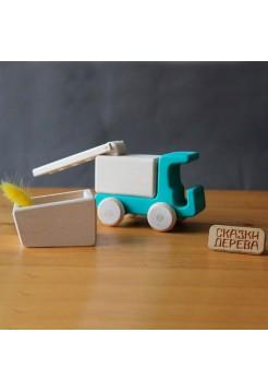 Конструктор грузовичок (магнитный), Сказки дерева 05027