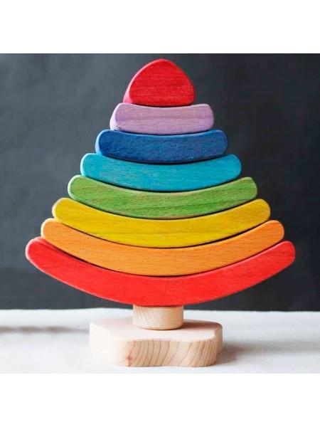Пирамидка Елочка Сказки дерева (16005)