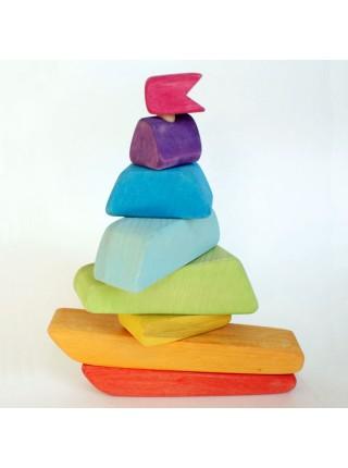 Пирамидка Сказки дерева Кораблик (16001)