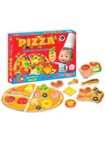Игра магнитная Юный повар Пицца купить