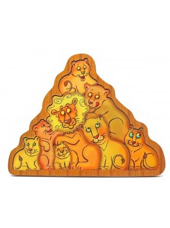 Головоломка львы Smile Decor П034 купить