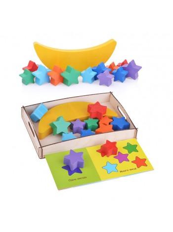 Развивающая игрушка Smile Decor Луна-равновеска купить
