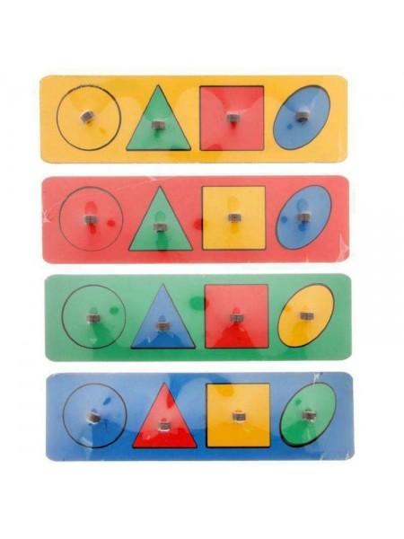 Рамки-вкладыши Геометрические фигуры, Smile Decor, Р01