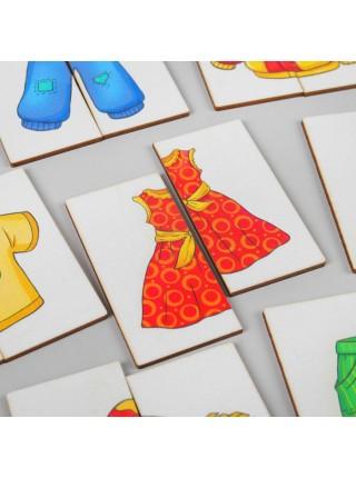 Картинки-половинки Одежда, Smile decor П208