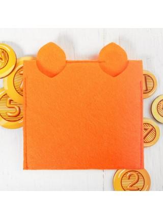 Кошелек с монетами Котик, Smile Decor Ф021