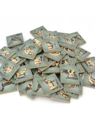 Мемори «Ферма» в мешочке, Царицынская игрушка (Радуга Кидс) CI-ME012