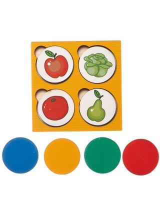 "Запоминалки ""Овощи-Фрукты"", Smile-Decor П212"
