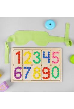 Тактильные цифры, Smile decor, М301