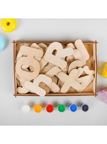 Набор для росписи Буквы-раскраски купить