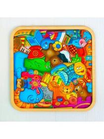 Пазл - головоломка Игрушки, 42 - элемента, Smile Decor П049