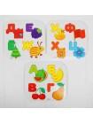 Игрушка-мозаика с шаблонами Волшебный алфавит купить