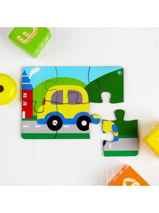 Пазл Машинка Мастер игрушек IG0067, 6 элементов