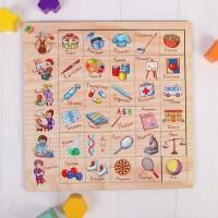 """Развивающая игра """"Ассоциации: Профессии"""", Мастер игрушек IG0189"""