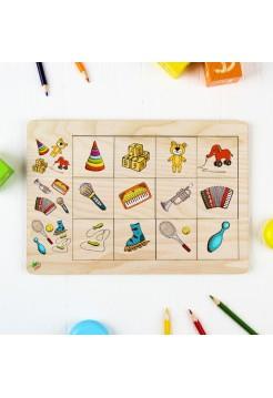 """Развивающая игра """"Ассоциации для малышей"""", Мастер игрушек IG0150"""