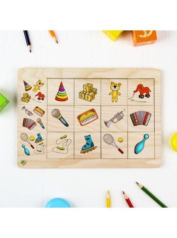 Развивающая игра Ассоциации для малышей купить