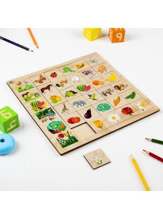 """Развивающая игра """"Ассоциации природа"""", Мастер игрушек IG0151"""