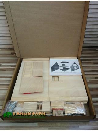 Кукольный домик с мебелью Дворики