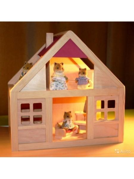 Кукольный домик Дворики 0002