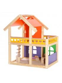 """Кукольный домик """"Уютный коттедж"""" без мебели"""