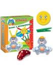 Vladi Toys Первые игры для малышей. Игры с прищепками Зайка купить