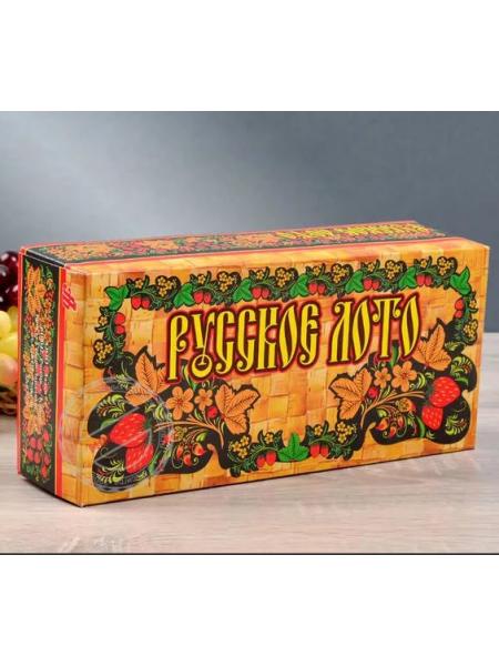 Русское лото в картонной коробке, С-197